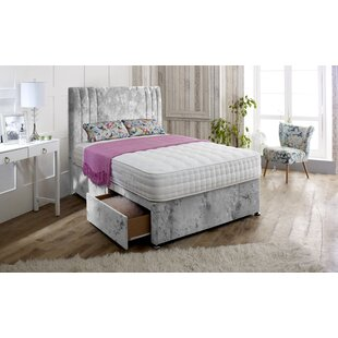 Hutton Upholstered Divan Bed And Headboard By Rosdorf Park