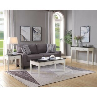Darby Home Co Davy 3 Piece Coffee Table Set