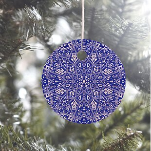 blue ornament - Navy Blue Christmas Ornaments