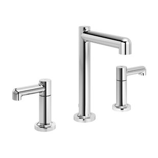 Symmons Museo Widespread Bathroom Faucet with Drain Assembly