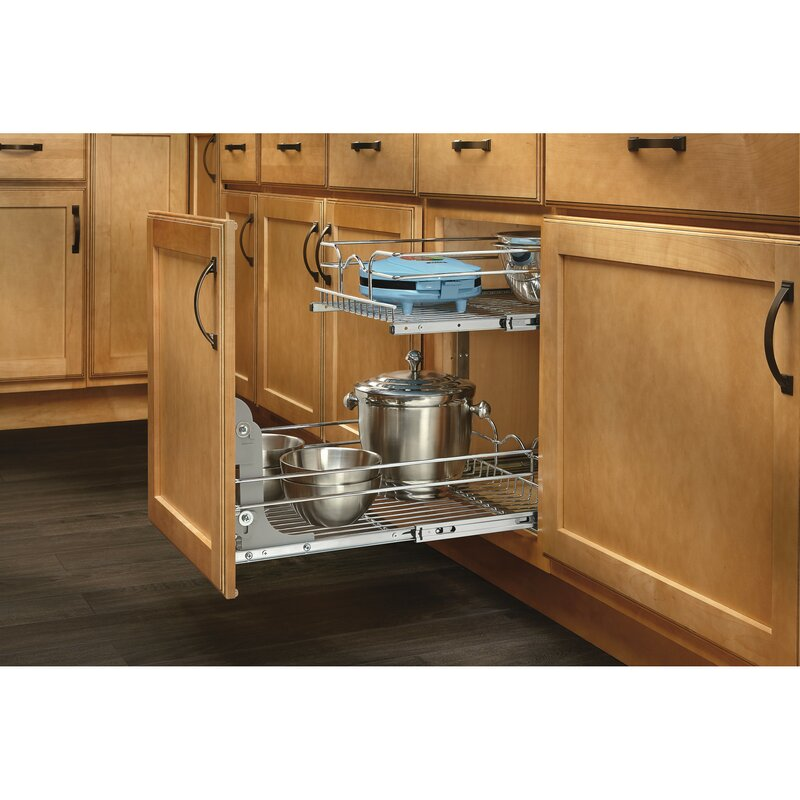 Kitchen Cabinet Drawer Kits: Rev-A-Shelf 2 Tier Pull Out Drawer & Reviews