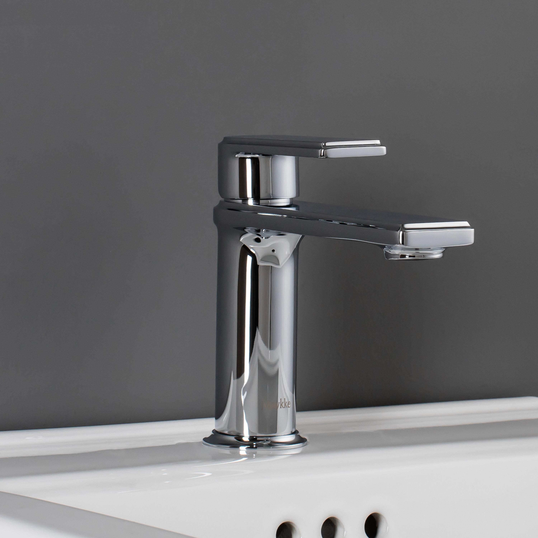 Maykke Arminius Lever Single Hole Handle Bathroom Faucet | Wayfair