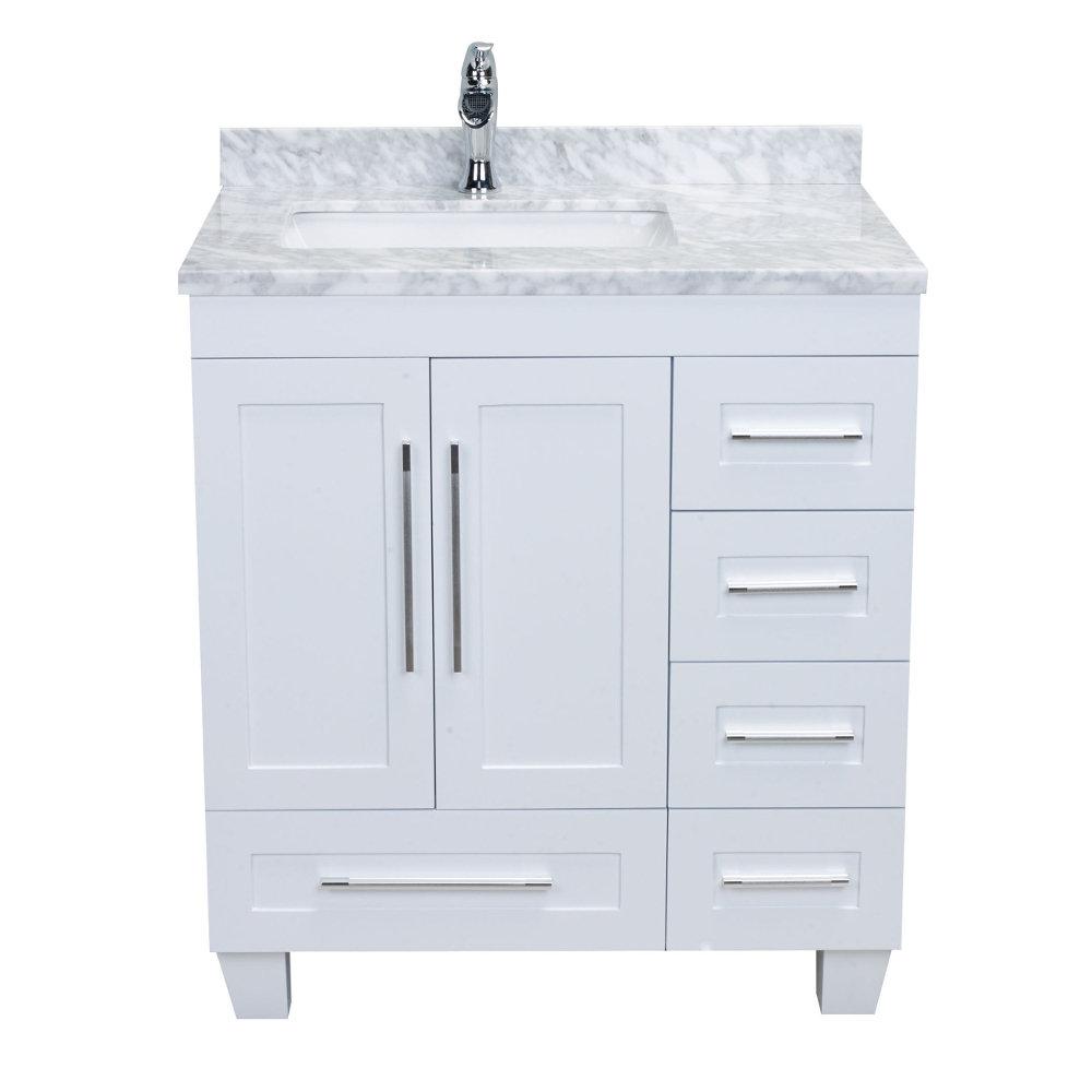 Eviva Loon 31 Single Bathroom Vanity Set Reviews Perigold
