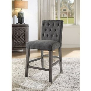 Balfor 26 Bar Stool with Cushion (Set of 2) by One Allium Way