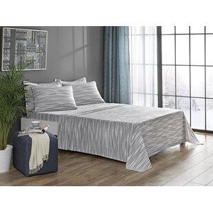 Fancy 100% Cotton Flannel Sheet Set