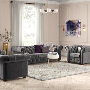 Les 3 Piece Living Room Set by Willa Arlo Interiors