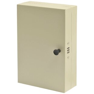 Hook-Style Key Cabinet with Dial Lock by Steelmaster