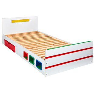 Room 2 Build Single Cabin Bed With Drawers By Zoomie Kids