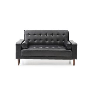 Shayne Convertible Loveseat by..