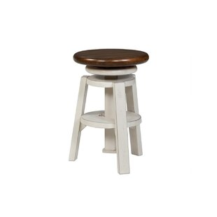Adalbert 24 Swivel Bar Stool by August Grove Best