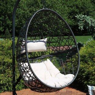 Abernathy Hanging Egg Swing Chair by Brayden Studio