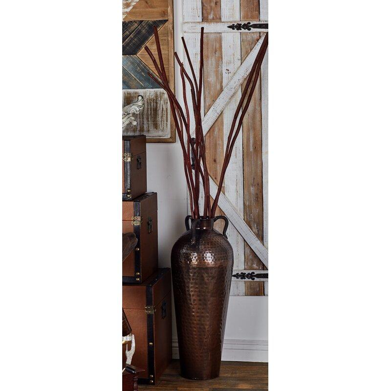 Metal Flower Vase Reviews Birch Lane