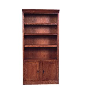 Mission Bookcase with Lower Doors Standard Bookcase