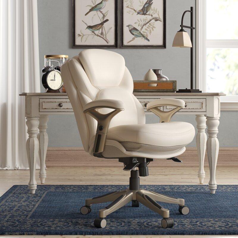 Serta At Home Serta Works Ergonomic Executive Chair Reviews Wayfair