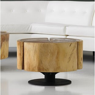Clatterbuck Clover Chamcha Wood Coffee Table