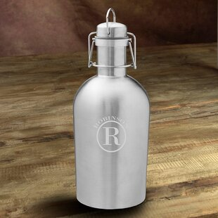 Weise Double Wall Insulated Stainless Steel 64 oz. Growler