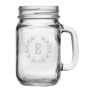 Personalized 16 oz. Mason Jar (Set of 4)