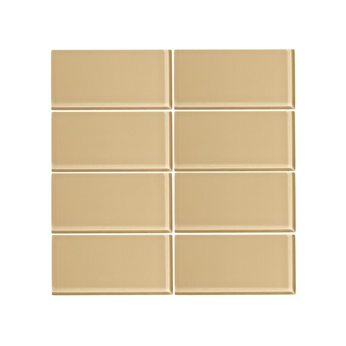 3 X 6 Gl Subway Tile In Toasted Almond