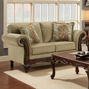 Beacher Loveseat by Astoria Grand