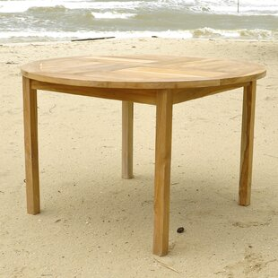 Friar Solid Wood Dining Table by IKsunTeak