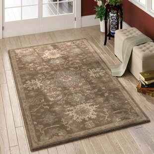Whittaker Brown Area Rug by Charlton Home