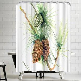 Suren Nersisyan Long Leaf Pine Tree Ii Shower Curtain