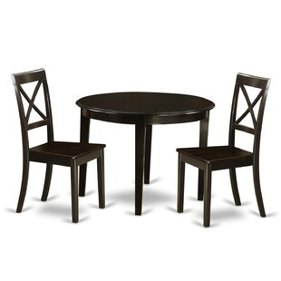 Red Barrel Studio Hillhouse 3 Piece Dining Set