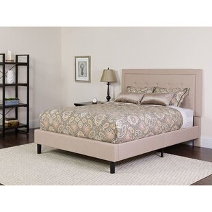 Karissa Upholstered Platform Bed with Mattress