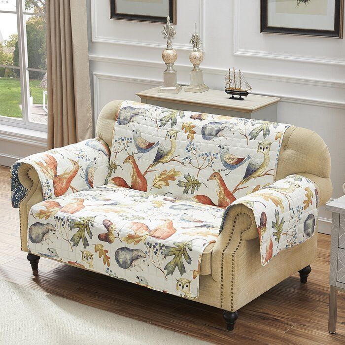 Admirable Mervin Willow T Cushion Loveseat Slipcover Caraccident5 Cool Chair Designs And Ideas Caraccident5Info