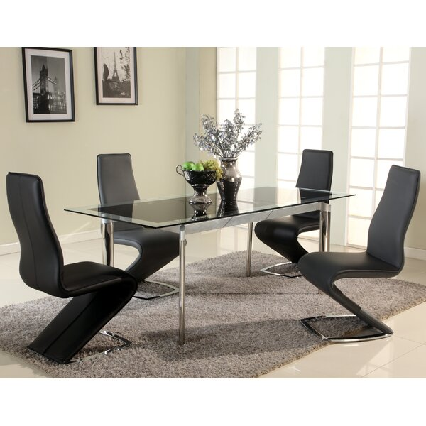 Extendable Glass Kitchen U0026 Dining Tables Youu0027ll Love | Wayfair