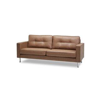Lopp Modern Solid Print Sofa