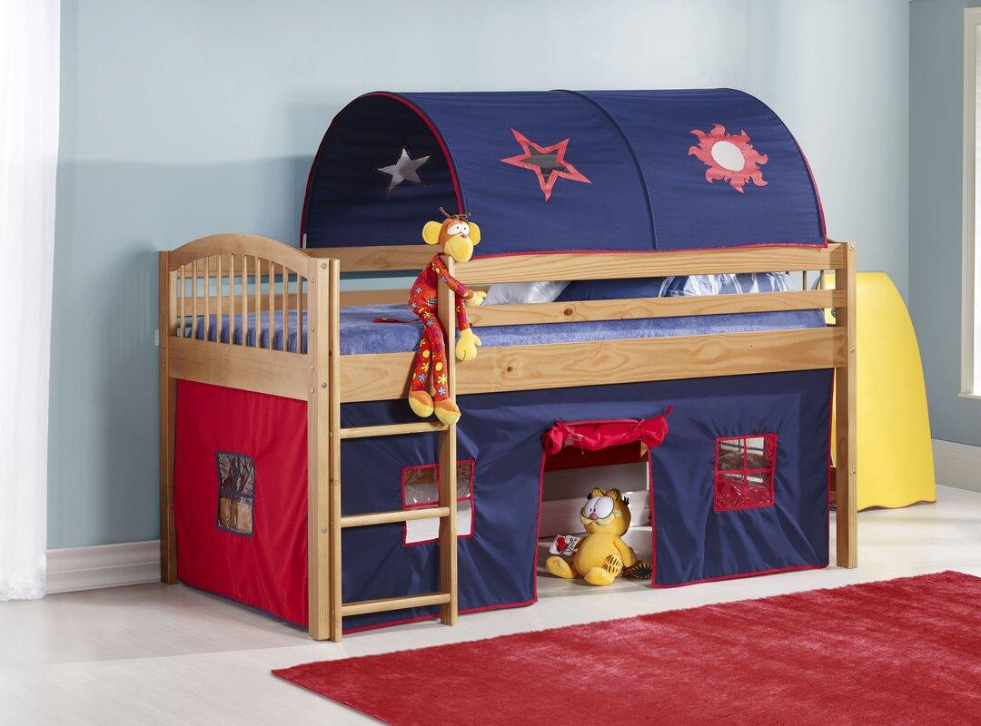 Loft Bed Images zoomie kids abigail twin loft bed & reviews   wayfair
