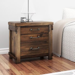 Top Reviews Mattalyn 3 Drawer Nightstand By Gracie Oaks