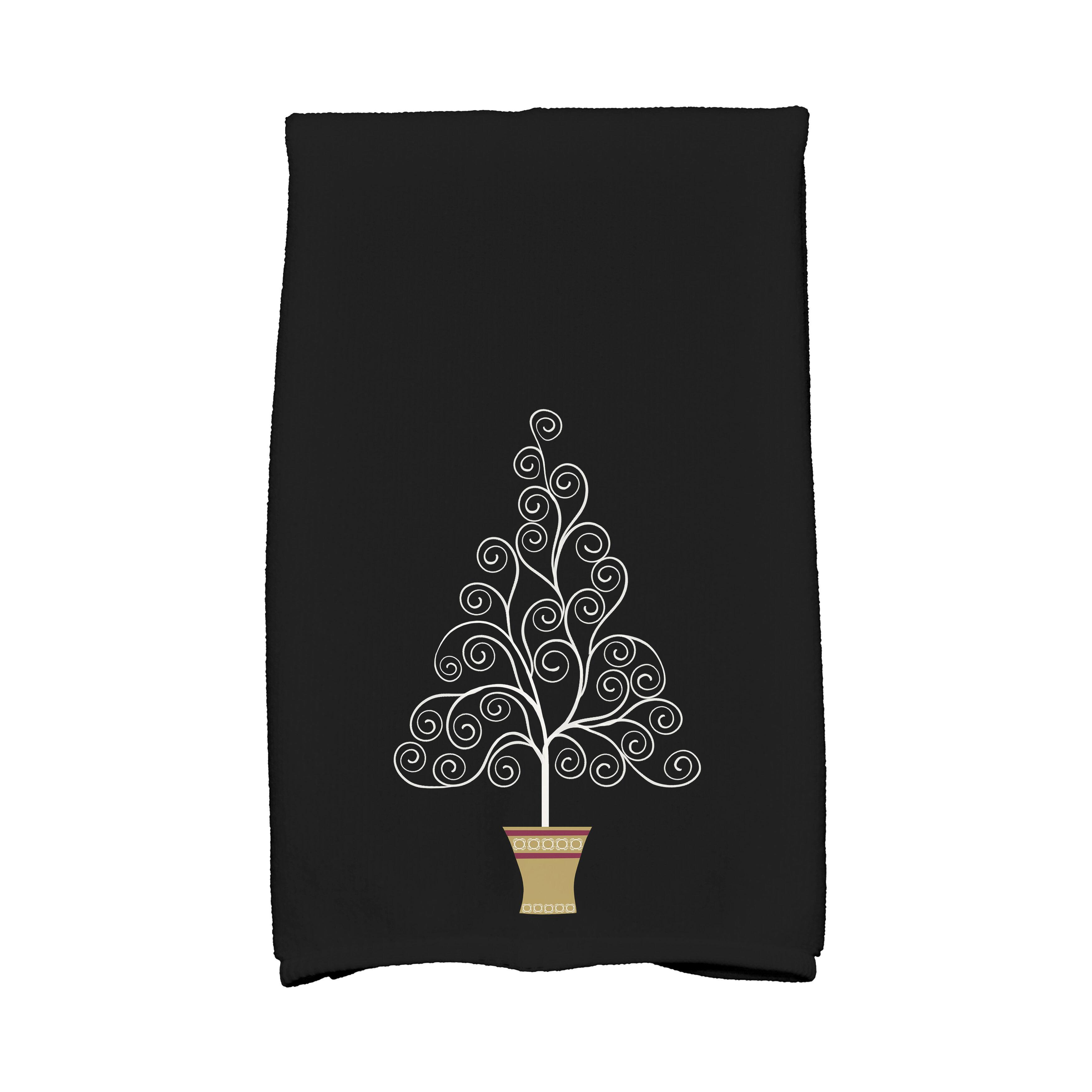 Angelique Hennessy filigree tree hand towel