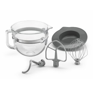6-qt. Glass Bowl Accessory Bundle
