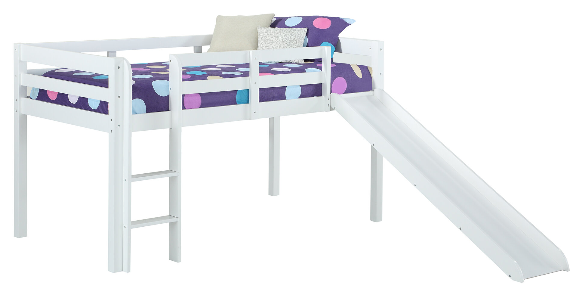 Zoomie Kids Sammons Junior Twin Low Loft Bed Reviews Wayfair