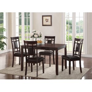 Sonata 5 Piece Dining Set by ACME Furniture
