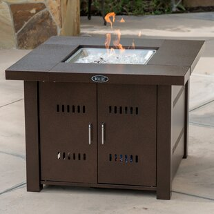Belleze Metal Propane Fire Pit Table