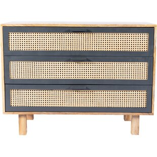 Rexdale 3 Drawer Accent Chest by World Menagerie