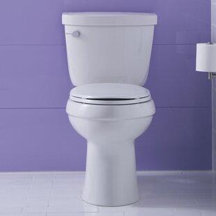 Kohler Cimarron Comfort Height Two-PieceToilet with Aquapiston Flush Techn..