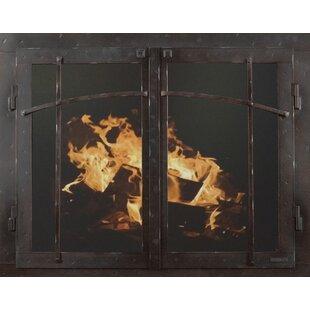Fireplace glass doors wayfair save to idea board planetlyrics Choice Image
