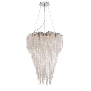 Cohen 10-Light Crystal Chandelier by Euro..