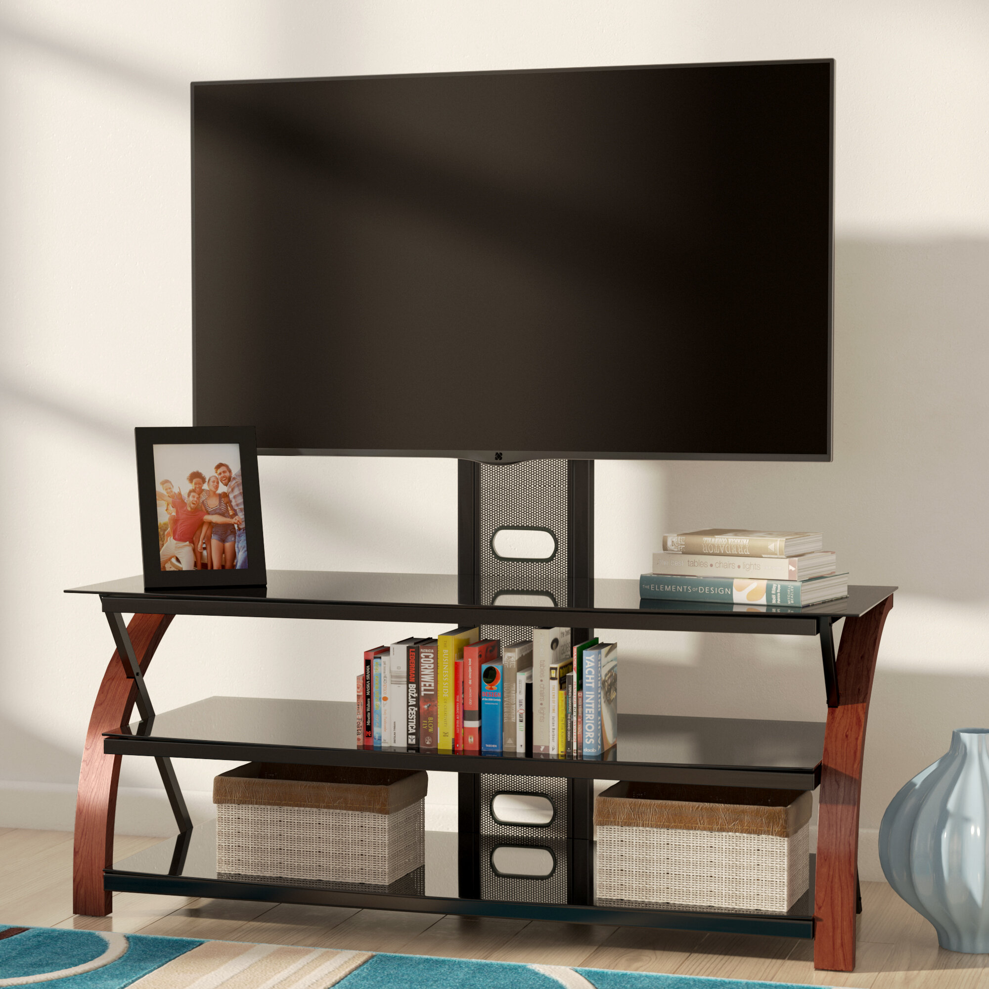 Zipcode Design Linda Tv Stand For Tvs Up To 55 Reviews Wayfair