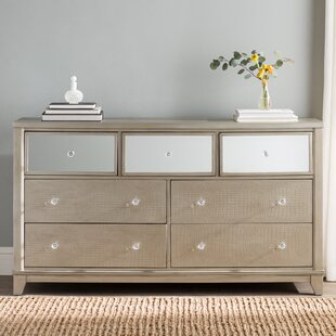 Willa Arlo Interiors Rogers 7 Drawer Wood Dr..