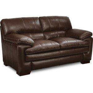 La Z Boy Dexter Leather Sofa Image