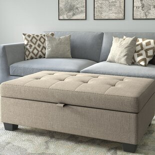 Kincade Storage Ottoman by Ebern Designs