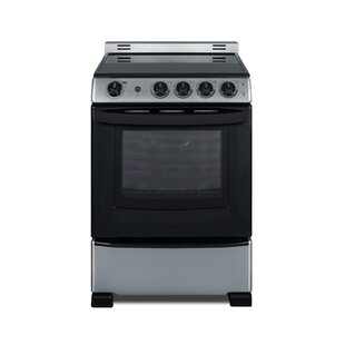 Smooth-Top Slide-In Look 24 2.9 cu ft. Free-standing Electric Range by Summit Appliance