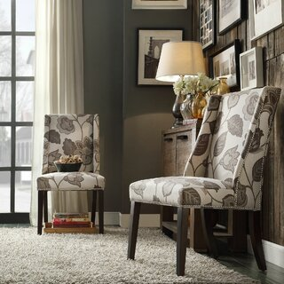 Anke Upholstered Dining Chair (Set of 2) by Willa Arlo Interiors SKU:CC872877 Reviews