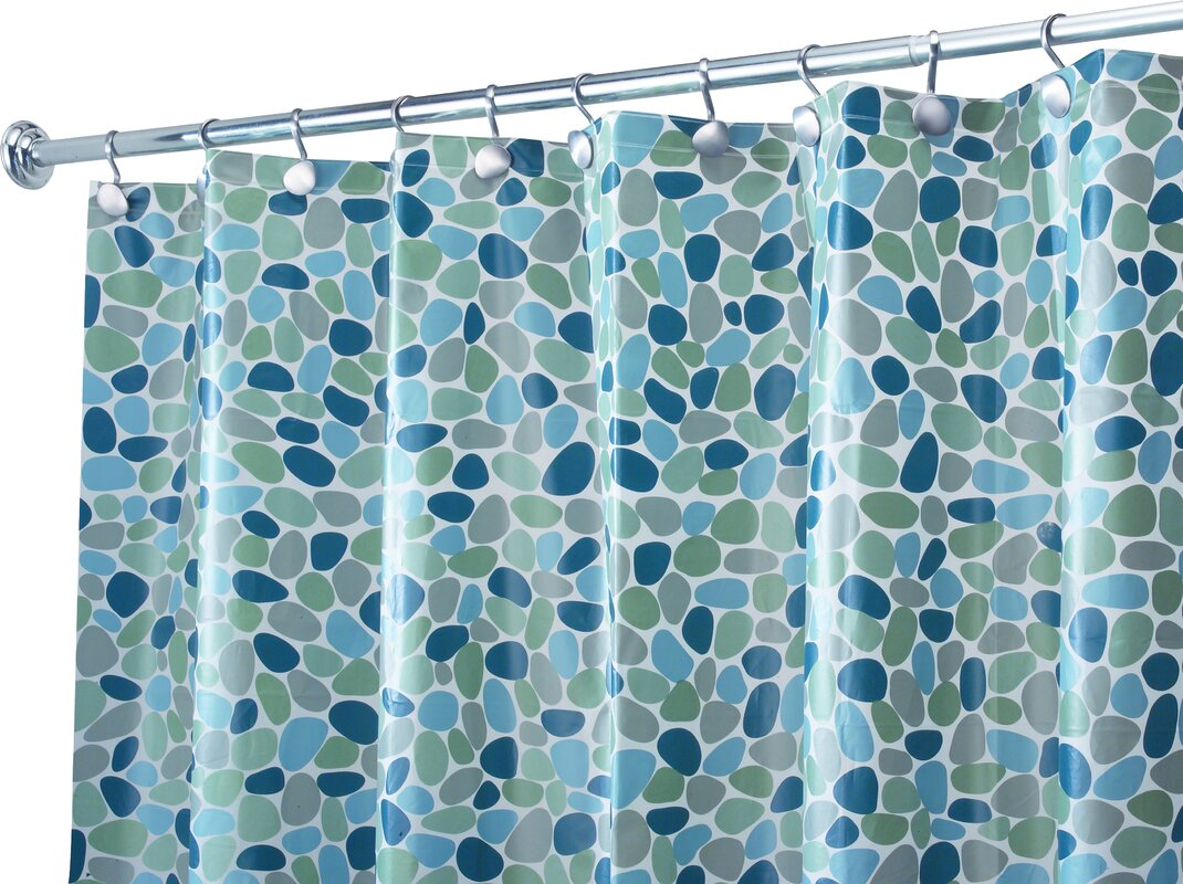 InterDesign EVA Vinyl Shower Curtain & Reviews | Wayfair