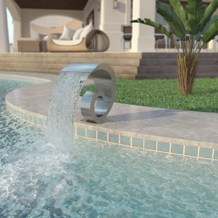 Warrensburg Stainless Steel Fountain By Sol 72 Outdoor